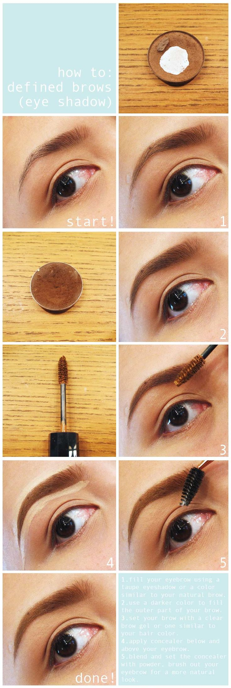 78 Best Images About How To Get Perfect Eyebrows