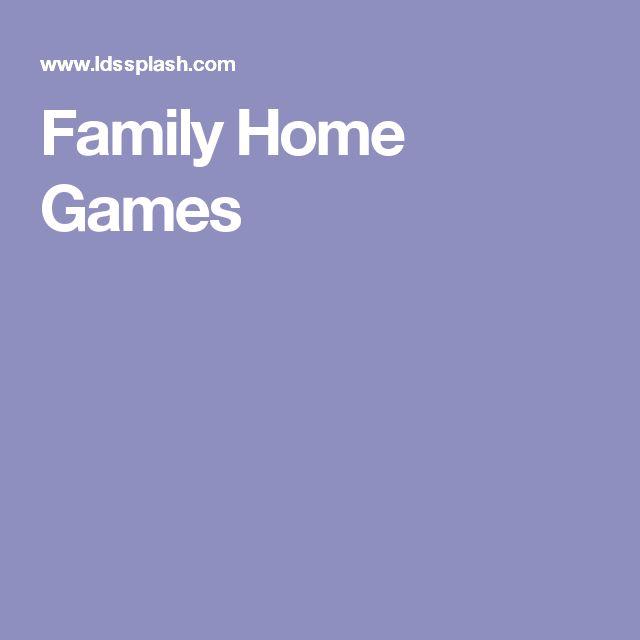 Family home evening ideas lds splash trivia