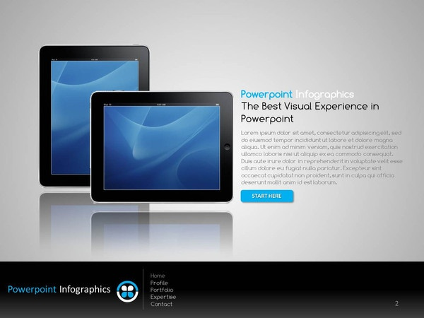 119 best ppt templates images on pinterest infographic info template company intro ipad 1499 features 5 breath taking slides toneelgroepblik Gallery