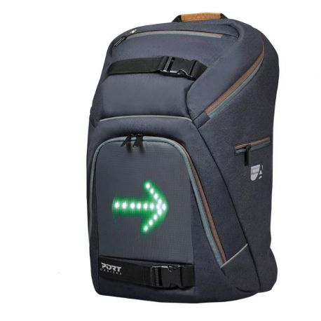 A backpack with integrated direction LED display !