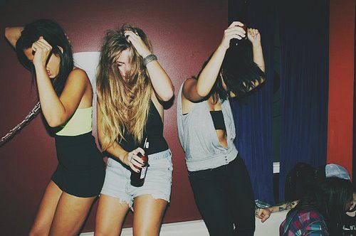 party #grunge #indie #party #music #pretty #softgrunge #teenagers