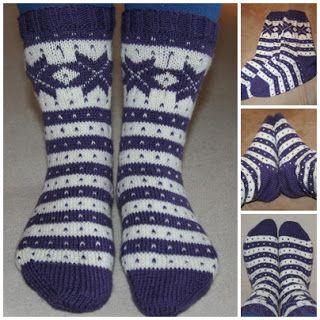 Strikkeguri sine strikkerier: Fana-sokker