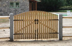 Wooden Double Gates For Driveway Woodworking Projects