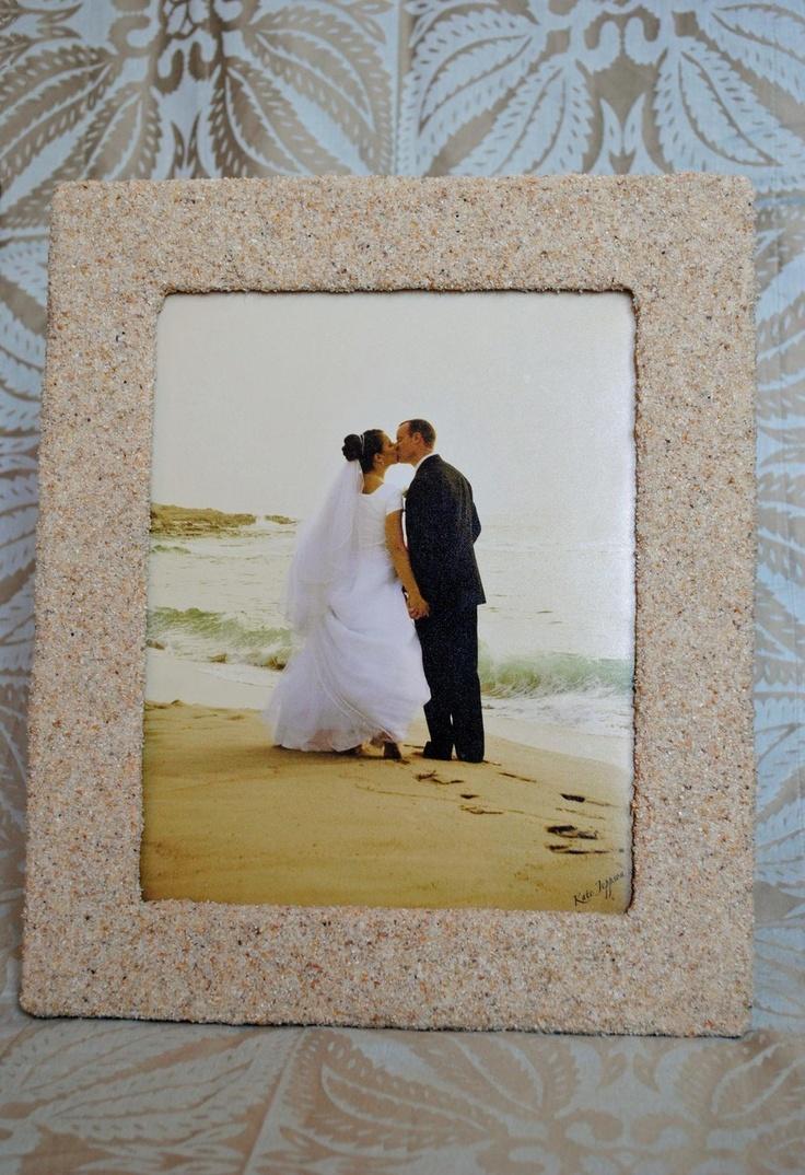 18 best decor frames images on pinterest frames picture frame sandy beach picture frame jeuxipadfo Images
