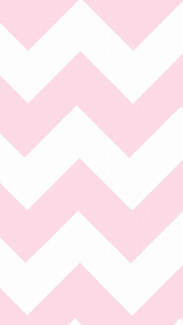 Pink chevron iPhone wallpaper