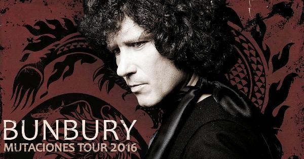 Bunbury en concierto en Valencia, Mutaciones Tour 2016 - http://www.valenciablog.com/bunbury-en-concierto-en-valencia-mutaciones-tour-2016/