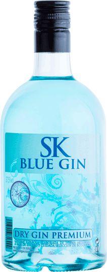 SK BLUE DRY GIN Ginebra seca elaborada de forma artesanal a partir de una selección de materias primas de primera calidad. #bluegin #ginebraazul