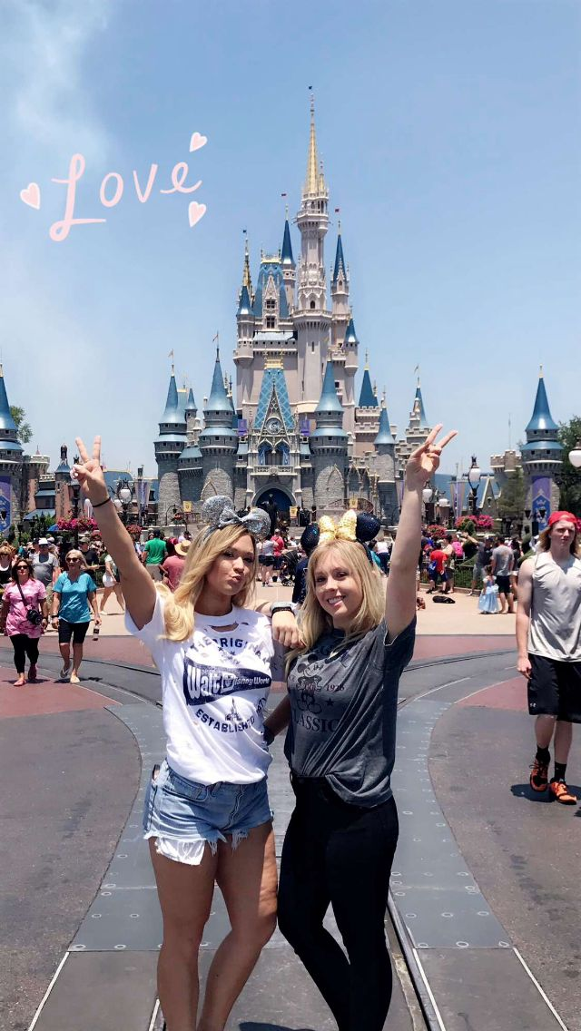 Alisha and Ashley's first time in Disney World!