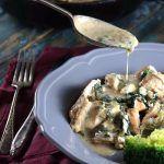 Keto Spinach & Feta Stuffed Chicken Breast