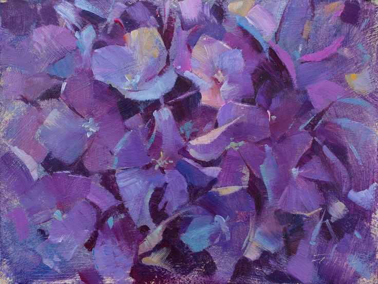 "I painted purple hydrangeas, ""Burst"" (oil on panel, 6""x8""), for the Plein Air Easton Competition and Arts Festival's Small Painting Sunday event. #patricksaunders #patricksaundersfinearts #patricksaundersfineart #patsaunders #pleinairstreaming #saundersfinearts #pae2017 #pleinaireaston #maryland #pleinair #painting #oilpainting #enpleinair #pleinairpainting #pleinairpainter #pleinairevent #floral #floralpainting #floralpainter #purplehydrangeas"
