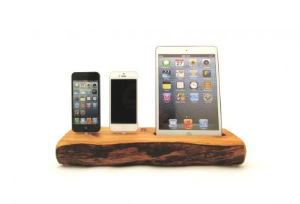 Docking Station for iPad Mini and iPhone 5 | Dock Artisan | Bourbon & Boots $250