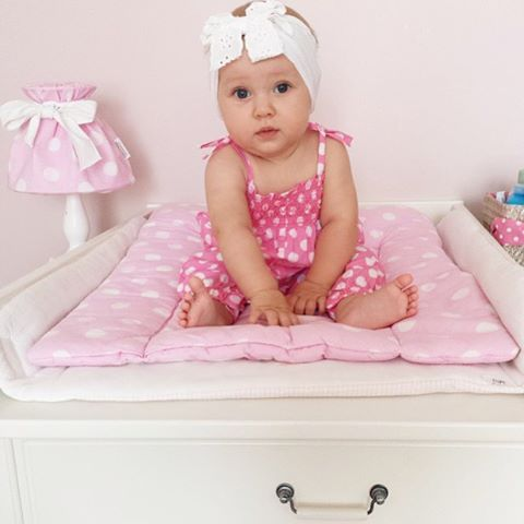 Daisy #chest with #changing #table. Perfect for little princess .