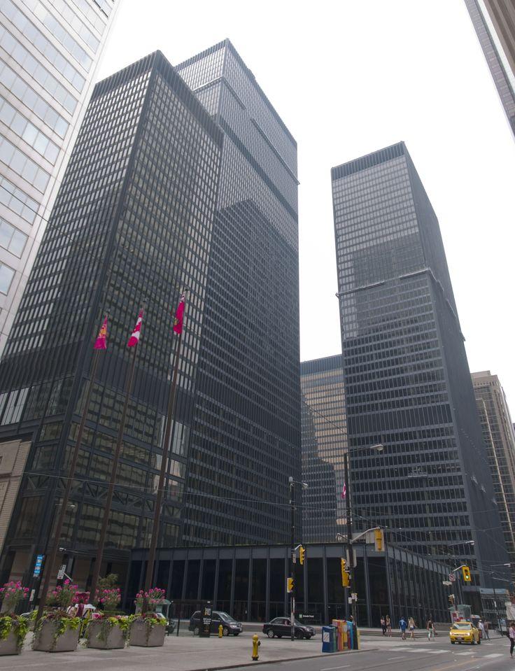 Toronto-Dominion Centre - Ludwig Mies van der Rohe, Bregman + Hamann Architects, John B. Parkin and Associates - Toronto, Canada