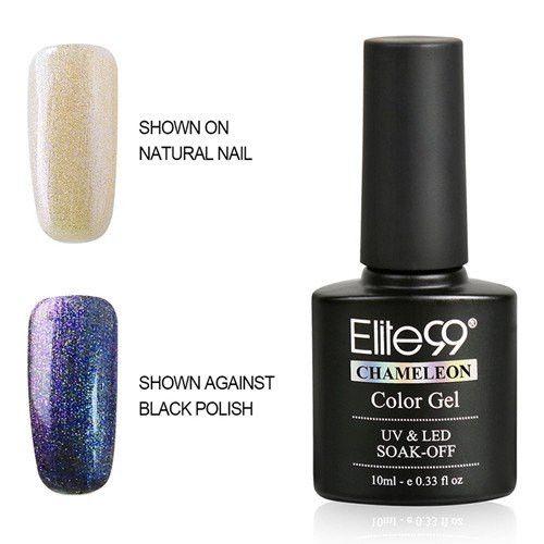 Elite99 3D Color Changeable UV Gel Sock Off Phantom Gel Polish (24 Colors)