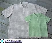 Летние рубашки - мальчишкам на радость