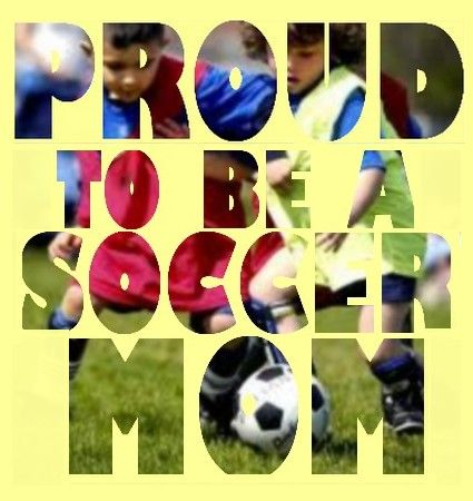 Proud to be a Soccer Mom! First game tomorrow! I can't wait... Proud of my boy!