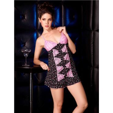 Lacy Babydoll Nightwear with G-String for women at low price.