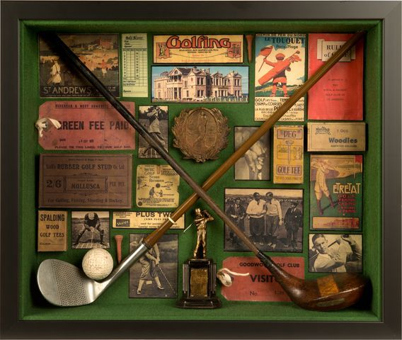 Vintage Golf Collage - Gift Ideas for Golfers