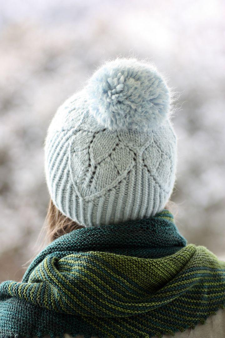 Ravelry: Fairy SnowCap pattern by Rosemary (Romi) Hill knit hat pattern