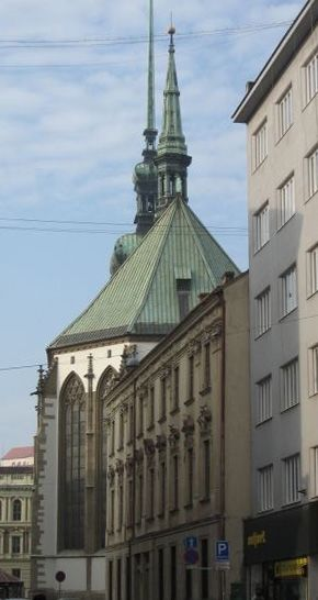 Brno - St.James church (South Moravia), Czechia #city #brno #czechia