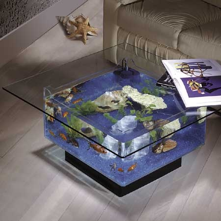 A table #aquarium!?! I want one!