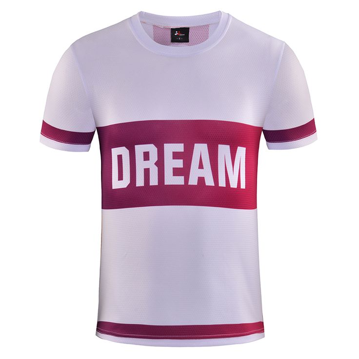DREAMSPORT 2017 summer new sublimation t shirt factory outlets fast dry breathable brand men clothing sports t-shirt tees #Affiliate