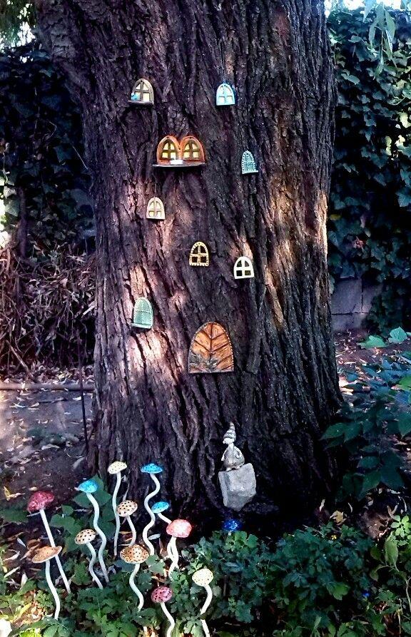 Tündérkert / Fairy garden  www.mesekeramia.hu  #mesekerámia #kertidísz #tündérfa #manófa #fairygarden