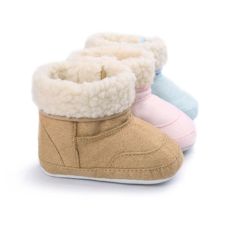 Baby First Walkers Baby Shoes Soft Bottom Warm Winter Baby Boots Toddler Shoes for Kids