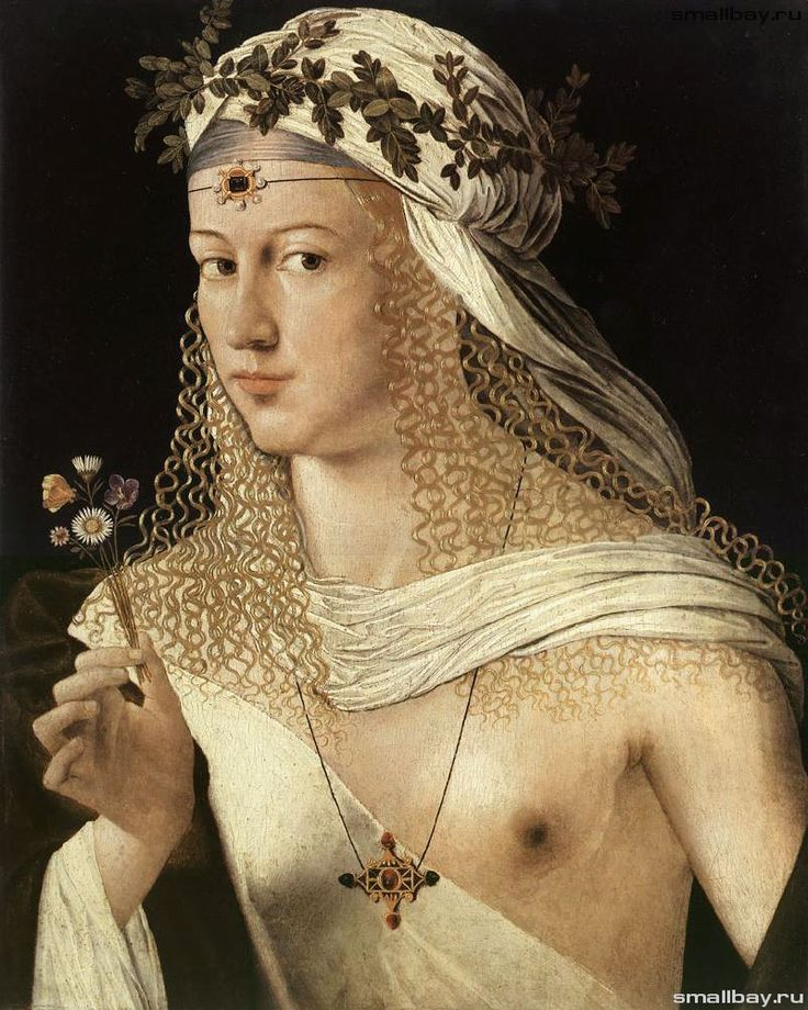 http://smallbay.ru/xtwo.html Портрет Лукреции Борджиа, (Куртизанка), 1520-1530 Штеделевский художественный институт, Франкфурт-на-Майне.