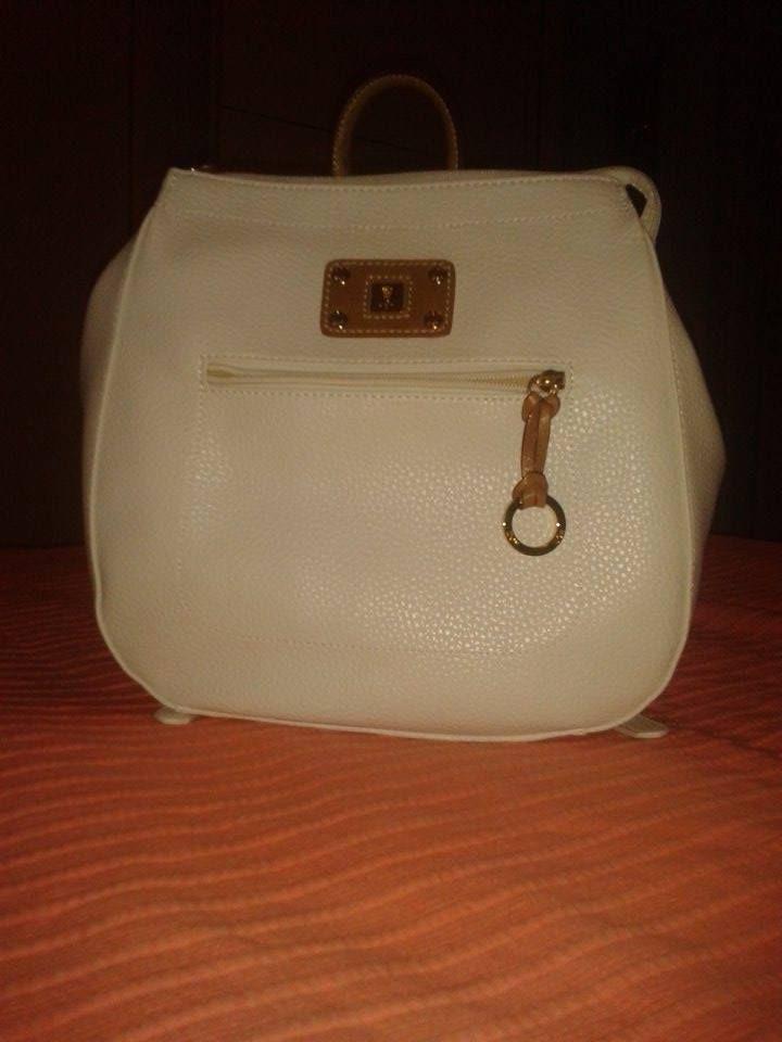 my new white kem backbag!