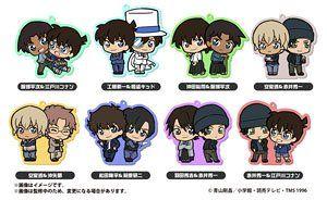 Detective Conan Chokokawa Twin Rubber Strap (Set of 8) (5,320 yen)