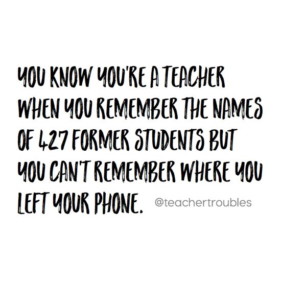 34 Signs You're a Type B Teacher