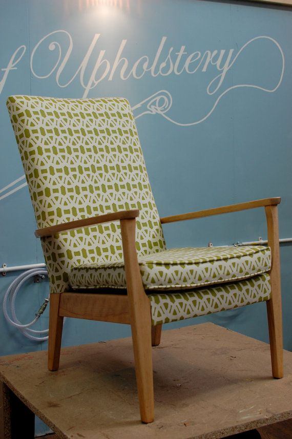 Beautifully restored and reupholstered Parker Knoll by CuteSeat