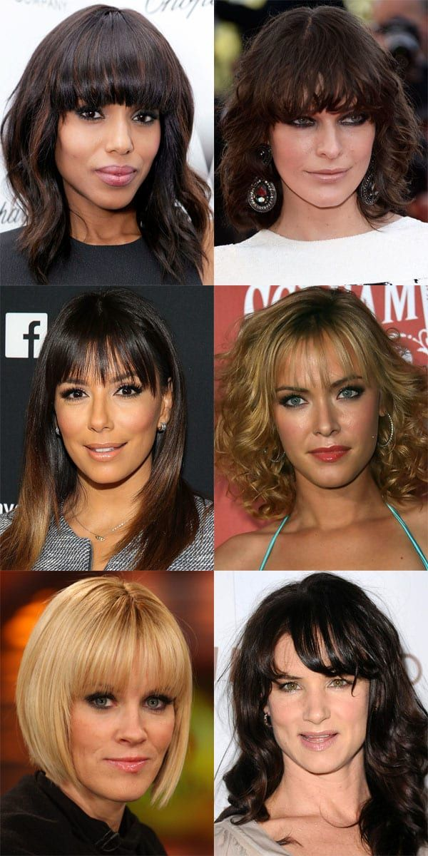 The Best And Worst Bangs For Heart Shaped Faces Heart Face Shape Heart Shaped Face Hairstyles Long Hair Styles