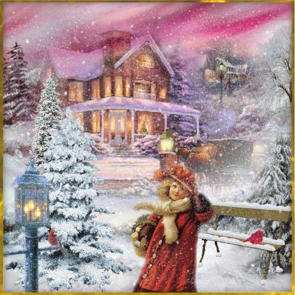 victorian christmas scenes - photo #10