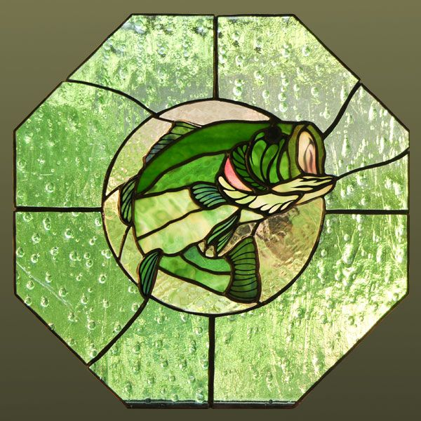 10 best images about stained glass fish on pinterest for Stained glass fish patterns