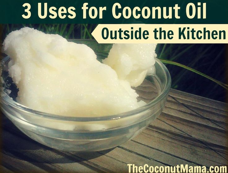 3 Uses for Coconut Oil Outside the Kitchen Optimal Health Consultant  1. Fever Blisters and Cold Sores 2. Poison Ivy, Oak, and Sumac 3. Blemish Spot Treatment