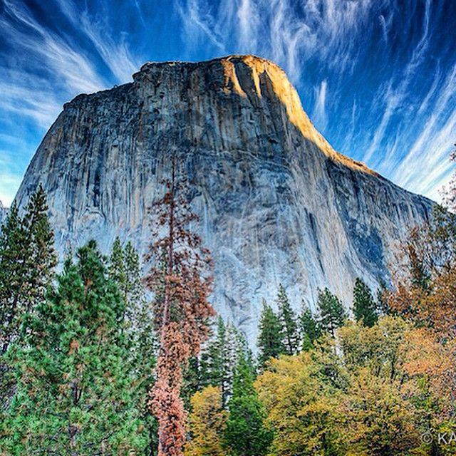 El Capitán, Yosemite National Park, CA. Photo courtesy of mkatieo on Instagram.