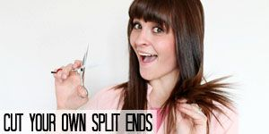 "How to cut your own side ""swoop"" bangs"