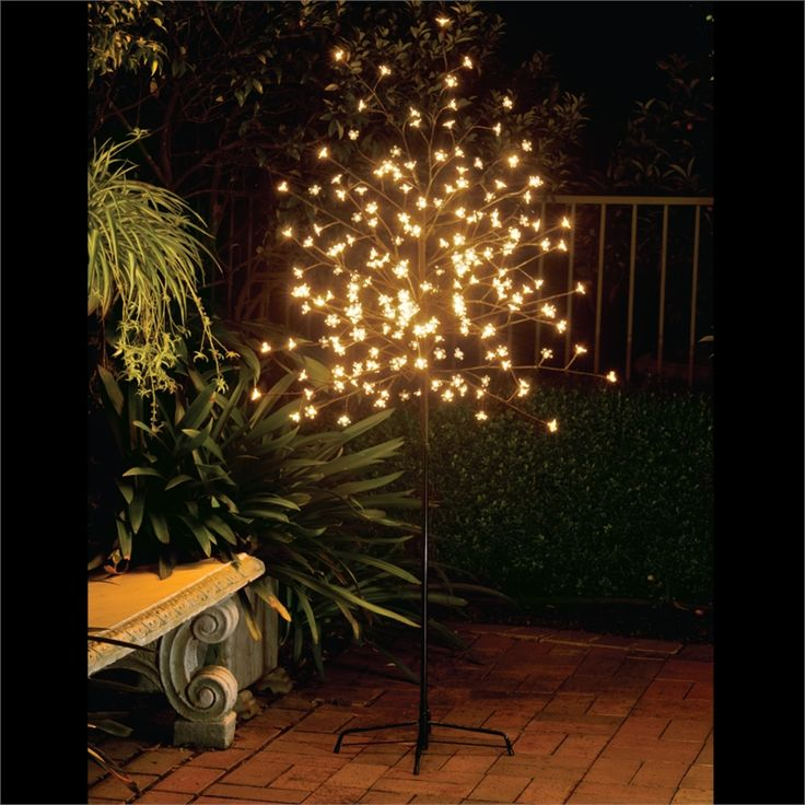 Lytwork 1.8m 200 LED Warm White Blossom Tree I/N 4351122 | Bunnings Warehouse
