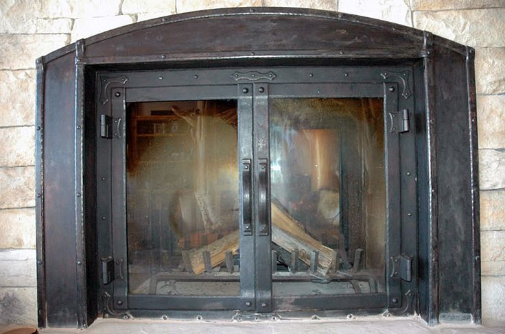 Cast Iron Fireplace Doors : Best fireplace doors images on pinterest