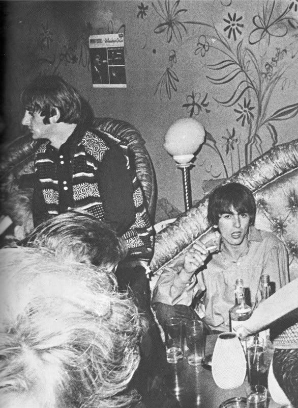 George Harrison and Richard Starkey (1964 US Tour)