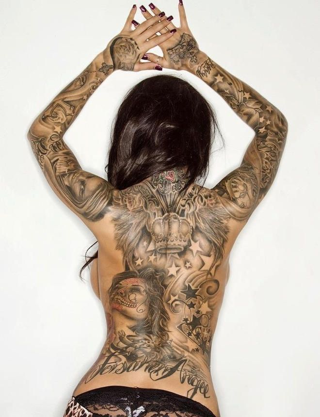★ Visit ~ MACHINE Shop Café ★ ★ Inked Model Heather Moss ★