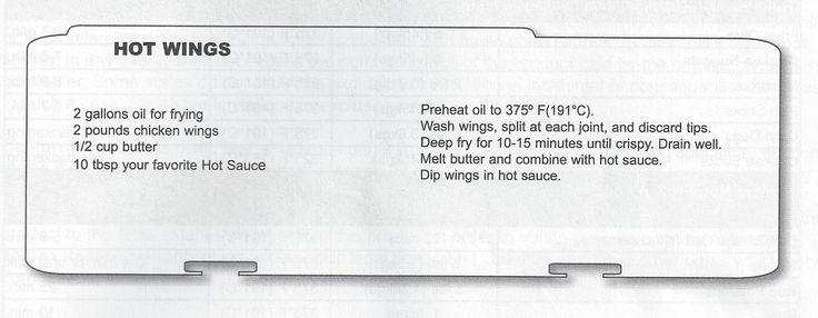 Butterball Electric Turkey Fryer - HOT WINGS