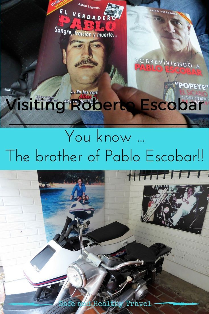 When you visit Medellin you are bound to hear about Pablo Escobar, I took it a step further and went visiting Roberto Escobar!!