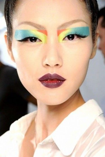 Make up occhi colorato