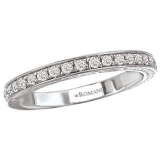 Filigree And Bead Set Diamonds Unite In Estelle Wedding Band Notice The On