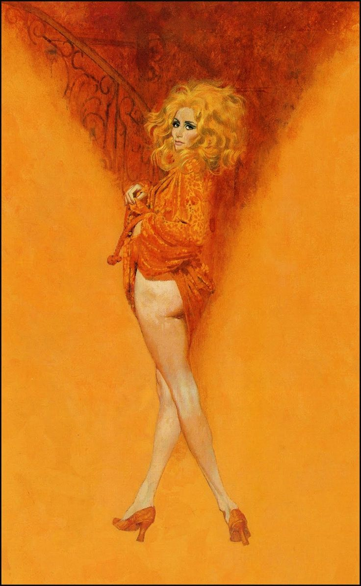 Robert McGinnis, American artist and illustrator ~ Blog of an Art Admirer