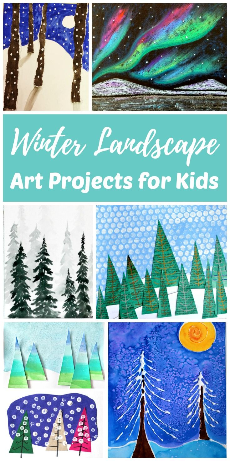 8a3b32899 The Best Winter Art Projects for Kids and Teens