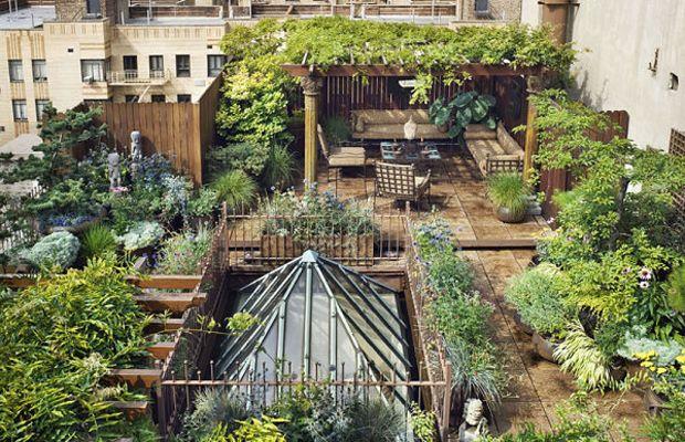 Roof Garden in New York
